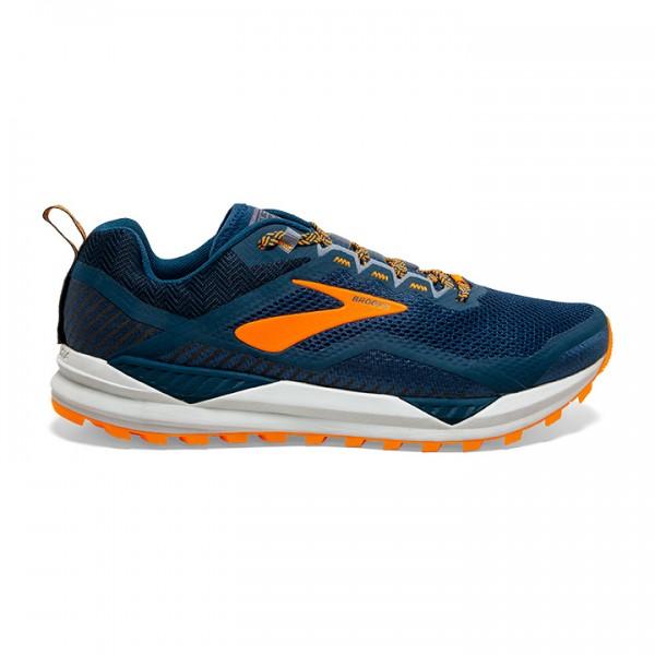 Brooks Cascadia14 Poseidon Orange Grey