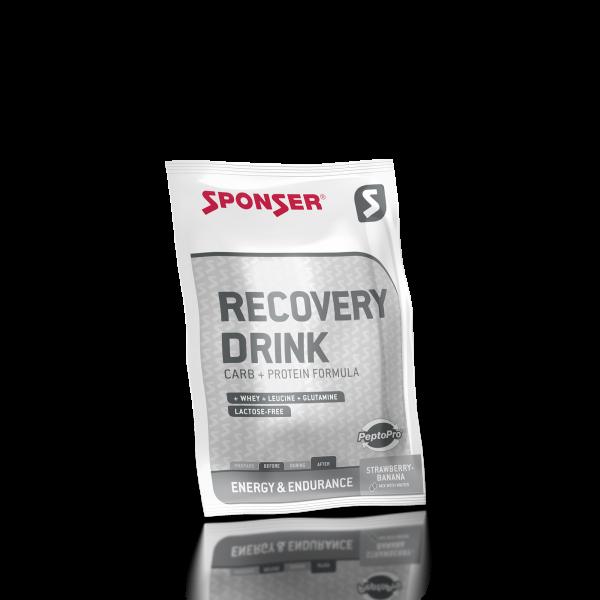 Sponser Recovery Drink 60g Erdbeer-Banane