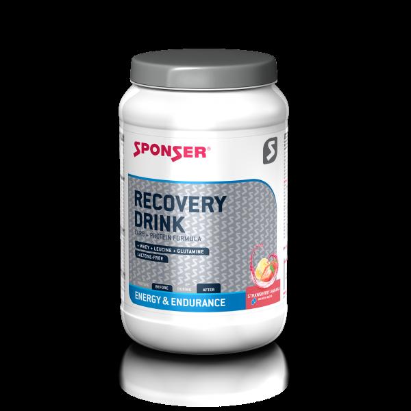 Sponser Recovery Drink 1200g Erdbeer-Banane