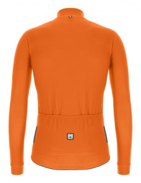 Santini Colore Jersey L/S Herren Fluo Orange